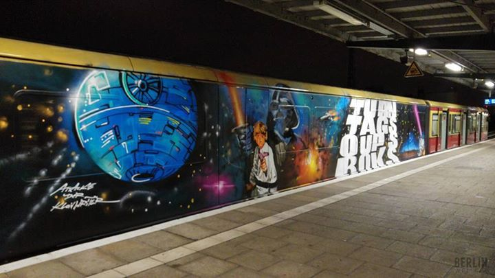 Star Wars Graffiti2