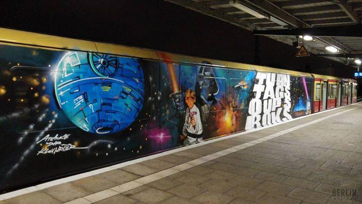 Star Wars Graffiti2