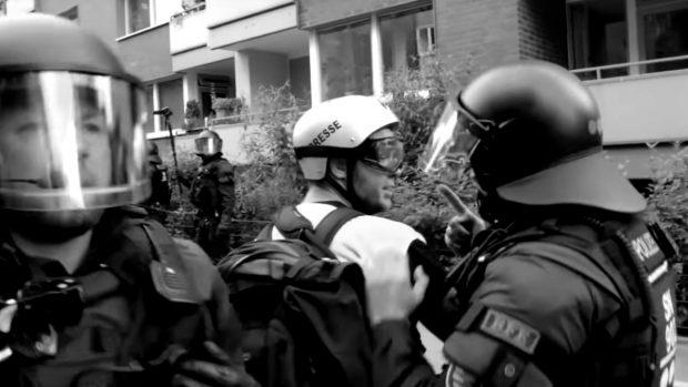 Polizeigewalt beim G20-Gipfel gab es auch gegen Pressevertreter....